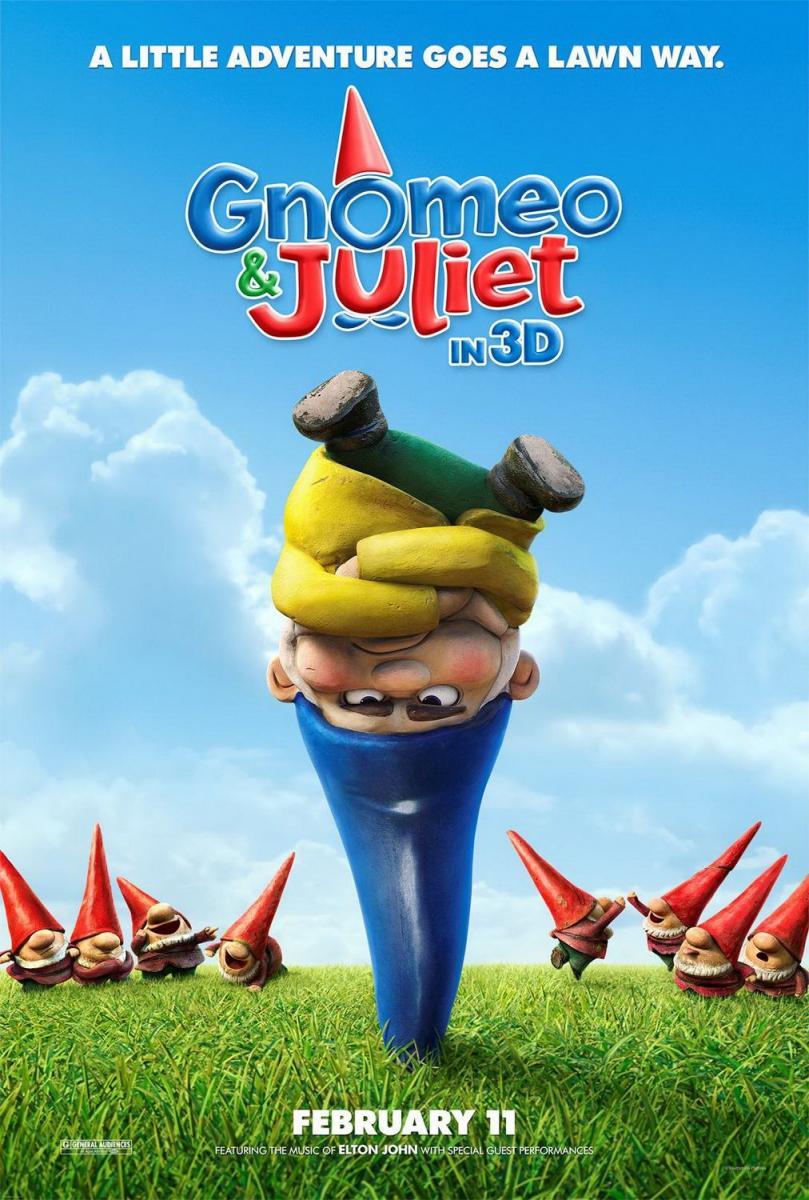 Gnomeo y Julieta online (2011) Español latino descargar ...