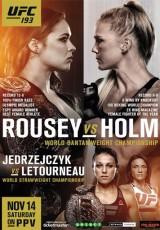 UFC 193: Rousey vs. Holm online (2015) Español latino descargar pelicula completa