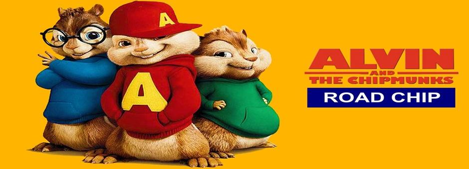 Alvin y las ardillas Fiesta sobre ruedas online (2015)