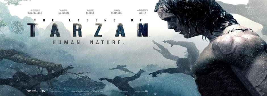 La leyenda de Tarzán online (2016)